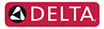 Delta Faucets Plumbing Logo