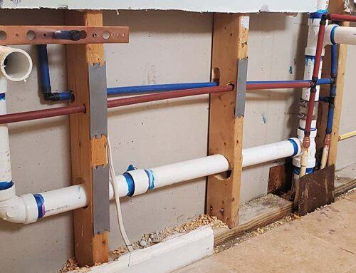 Professional Plumber For A Main Sewer Line Blockage
